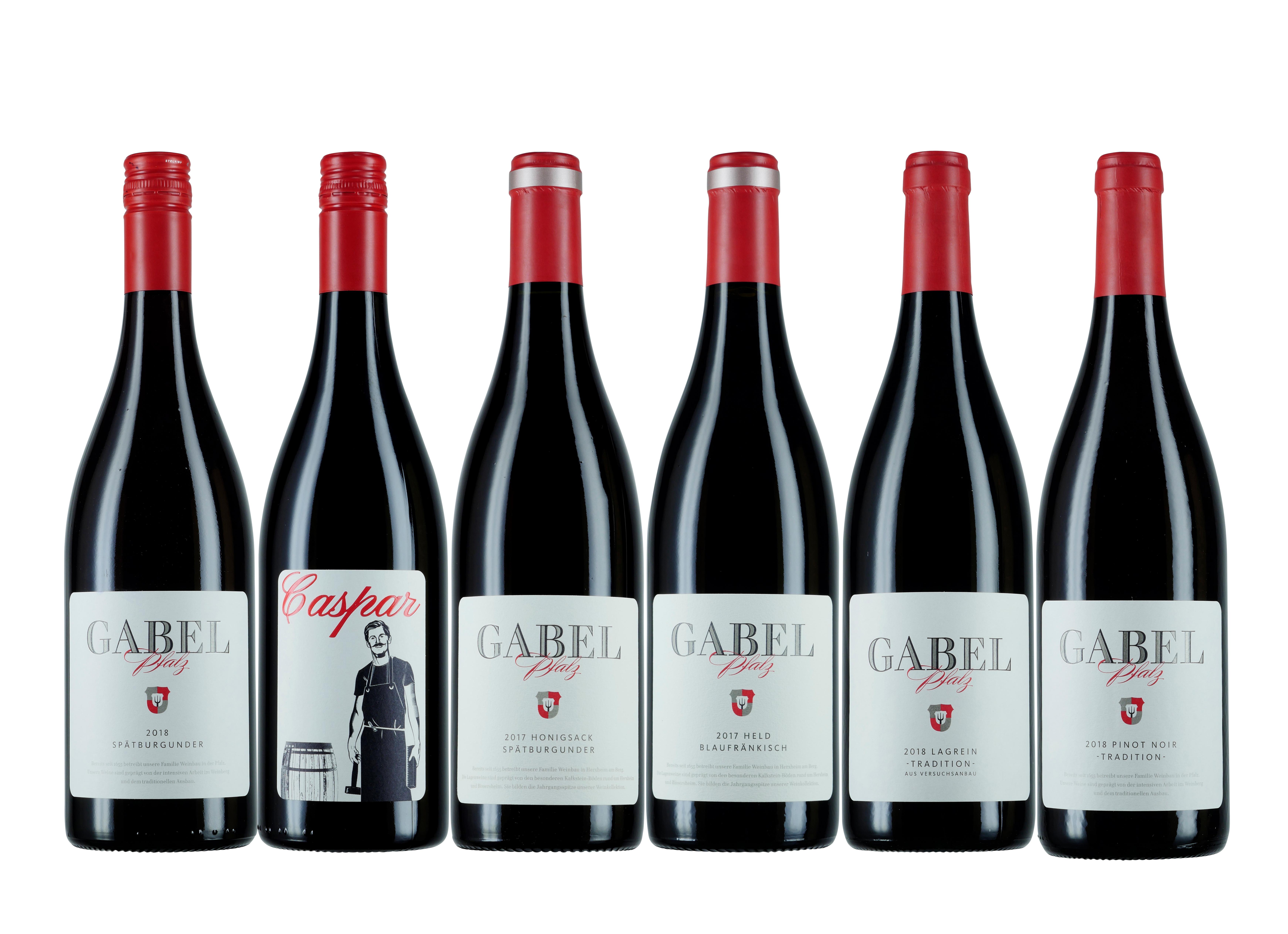 6er-Rotweinpaket
